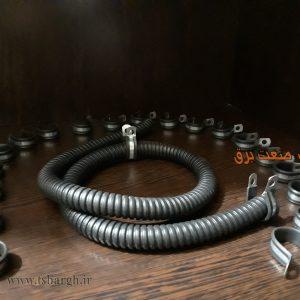 بست لوله فلکسیبل خرطومی فلزی